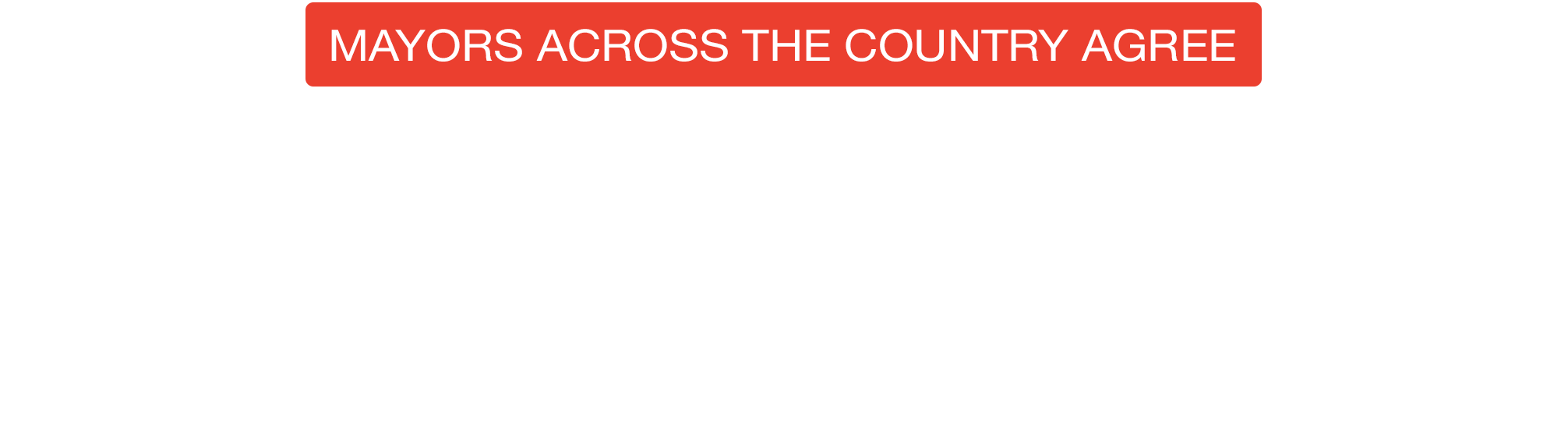Mayors Across the Country Agree: It's Time to Protect LGBT Americans From Discrimination